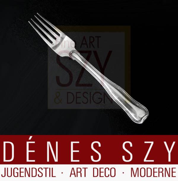 Georg Jensen Silber, Dobbeltriflet # 100, Dessertgabel