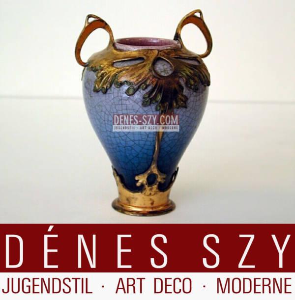 Orivit Jugendstil Zinn Köln Schmuck Vase 2560