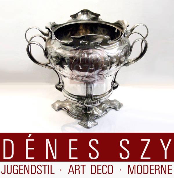 WMF Jugendstil Sektkuebel ca 1906 Art Nouveau Cooler