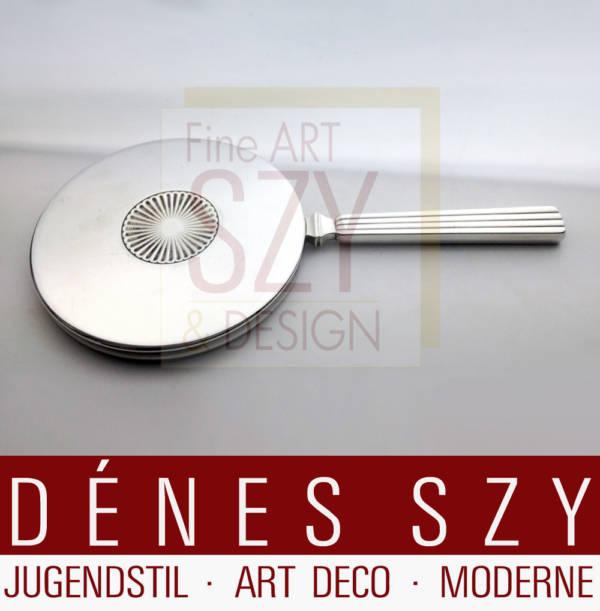 Georg Jensen Silber Bernadotte Art Deco Hand-Spiegel 278
