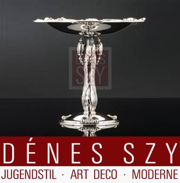Georg Jensen Sterling Silber Jugendstil Tazza 2 Magnolia