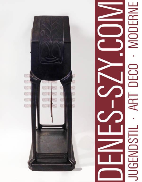 Colonia degli artisti di Darmstadt Albin Mueller orologio da tavola stile liberty