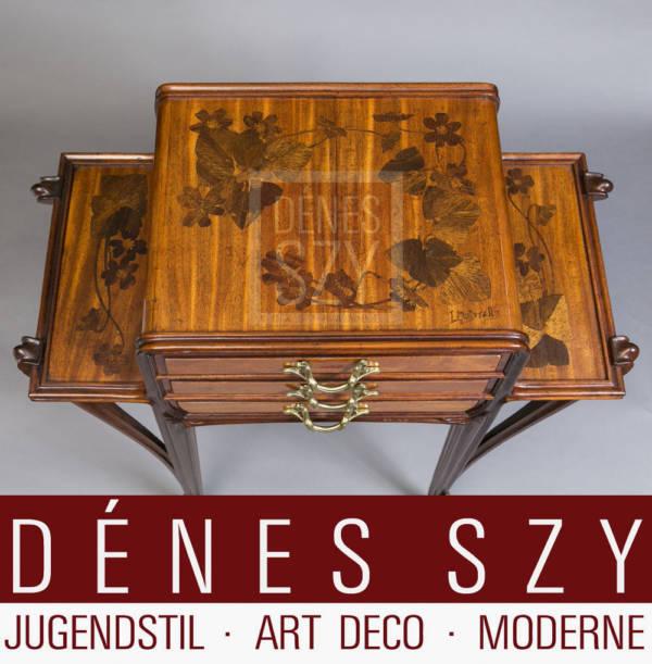 Louis Majorelle, Nancy Meubles Art Nouveau,, Secrétaire avec trois tiroirs