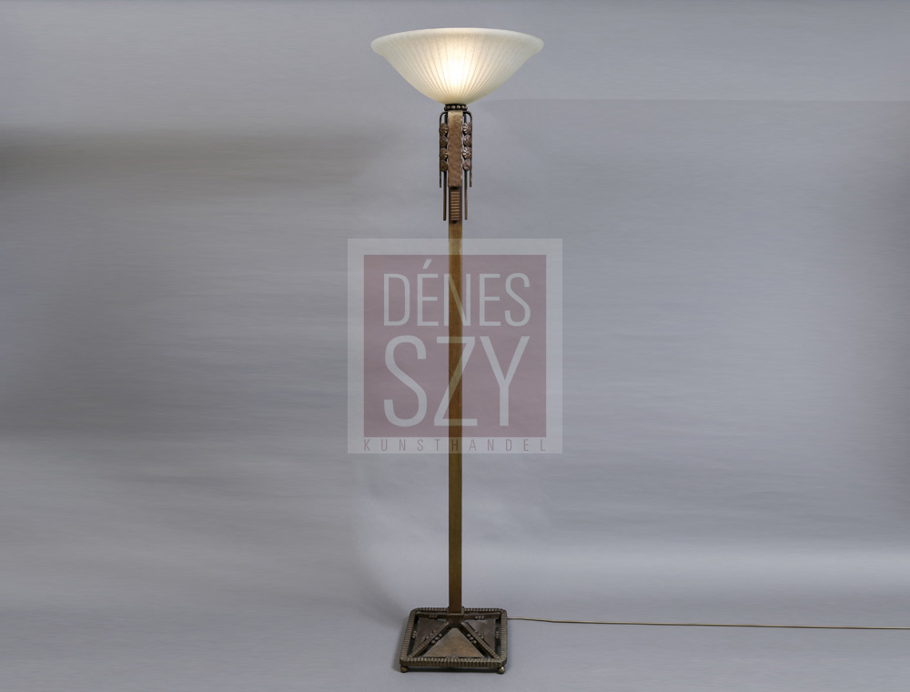 Daum nancy lampada a stelo art deco denes szy kunsthandel