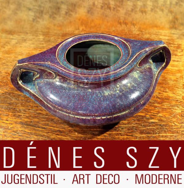Henry van de Velde Steinzeug Vase 2054 von 1902