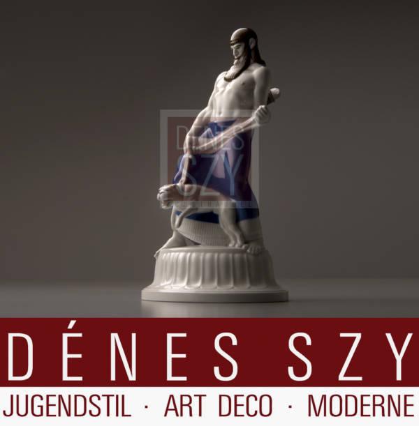 KPM Royal Berlin porcelain figurine Assyrians Hochzeitszug