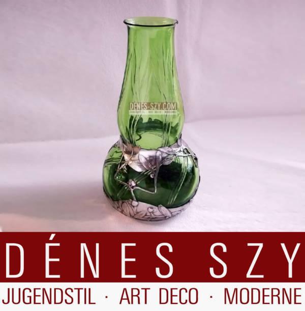 Orivit Jugendstil Zinn Köln Vase 2547