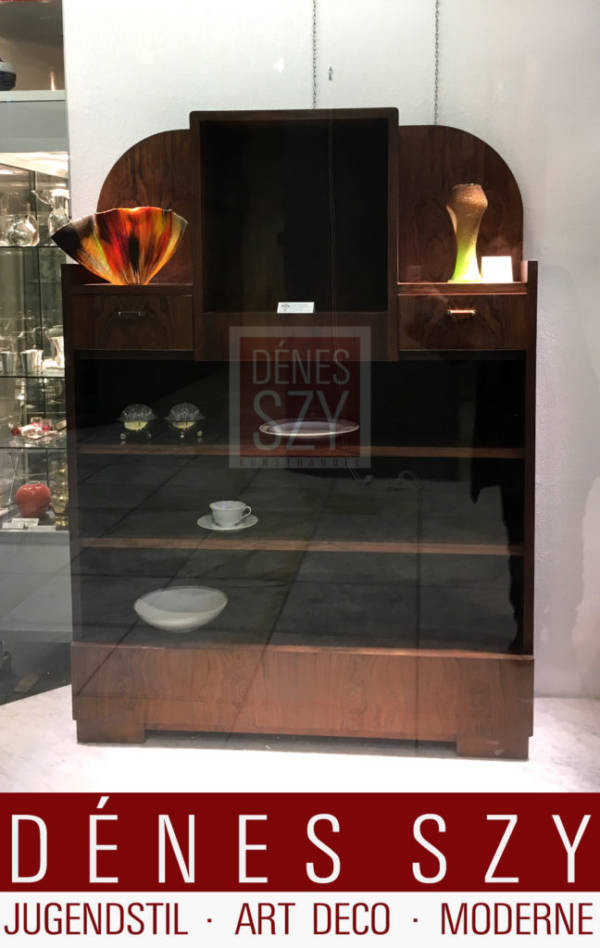 Henry van de Velde Art Deco Buecherschrank Palisander