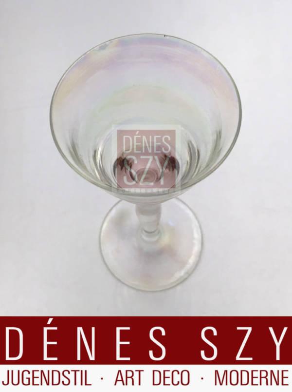 Josef Hoffmann Lobmeyr Art Nouveau shot glass Vienna 1920