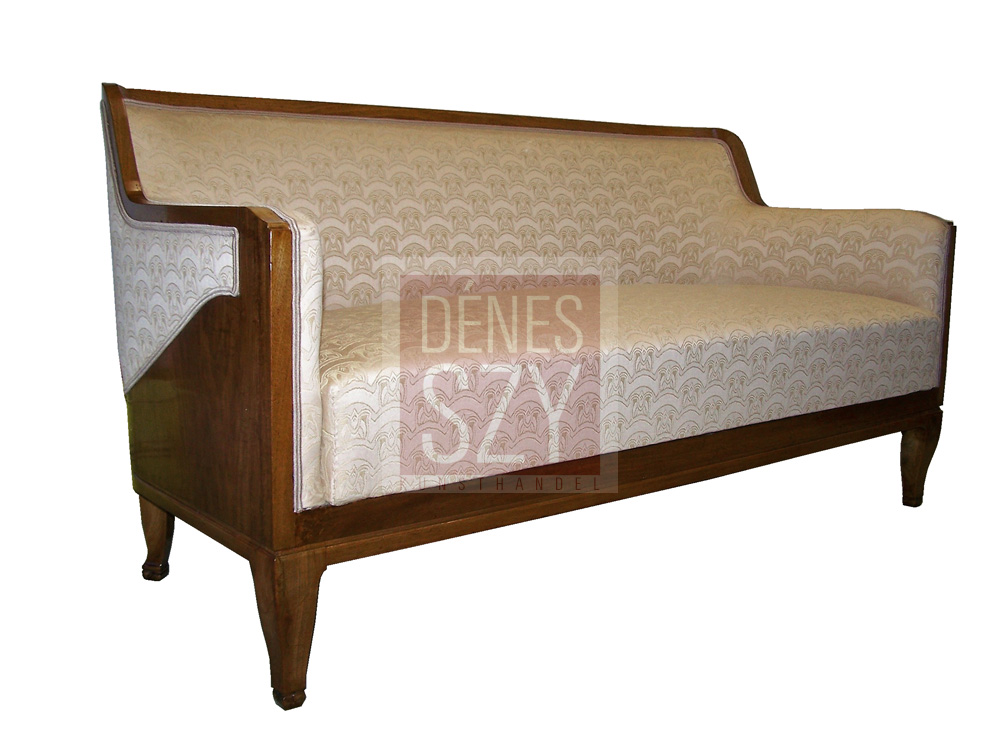 henry van de velde zweisitzer sofa hamburg 1916 denes szy kunsthandel. Black Bedroom Furniture Sets. Home Design Ideas