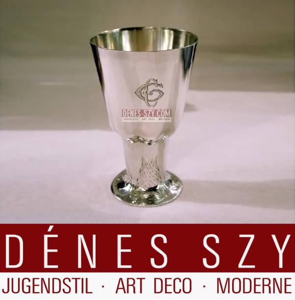 Orivit Sterling Silber Koeln 1900 Jugendstil Vase 25