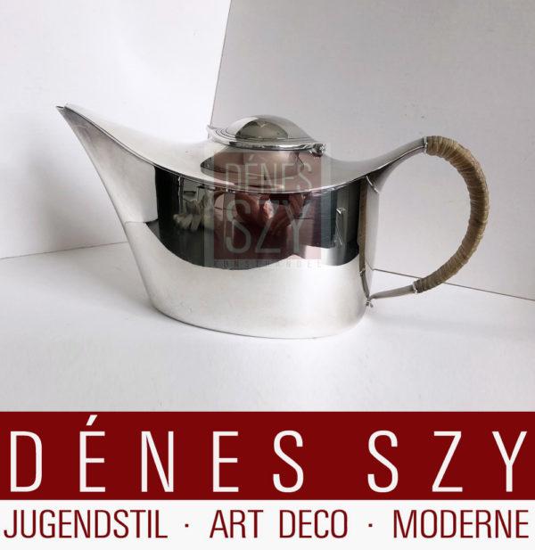 Tee Kanne #404, Silber 925, Design Karl Gustav Hansen