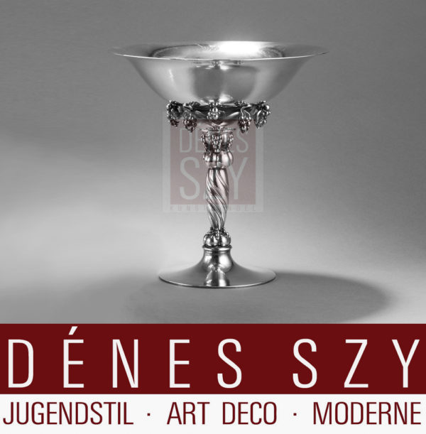 Georg Jensen XXL Trauben Tazza # 264 A grape collection