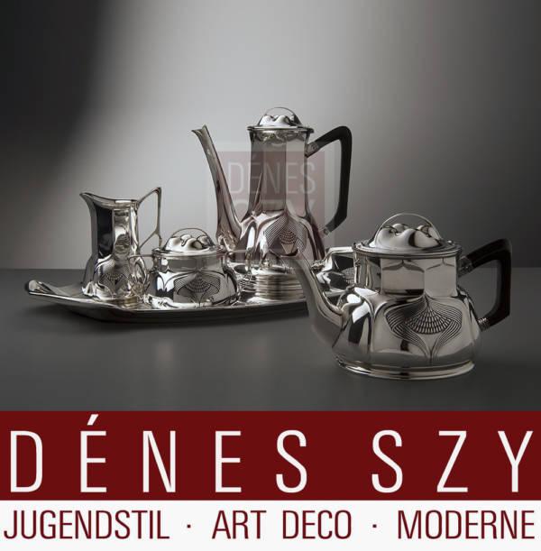 Orivit Silber Köln Jugendstil Tee Kaffeeservice 115