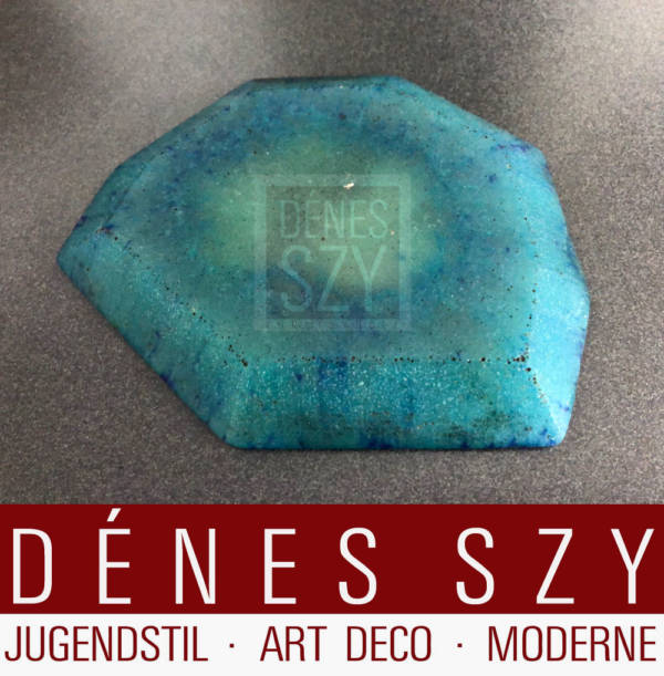 Amalric Walter Nancy Art Deco pâte-de-verre Schale mit Zentaur