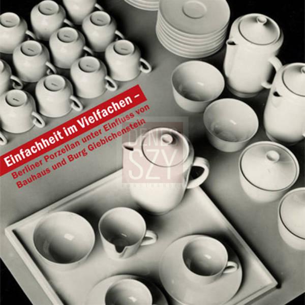 KPM Bauhaus Tablett Hallesche Form 1930 by Friedlaender