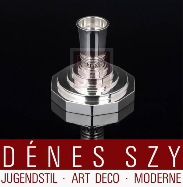 Georg Jensen Silber Art Deco Kerzenleuchter 691 B
