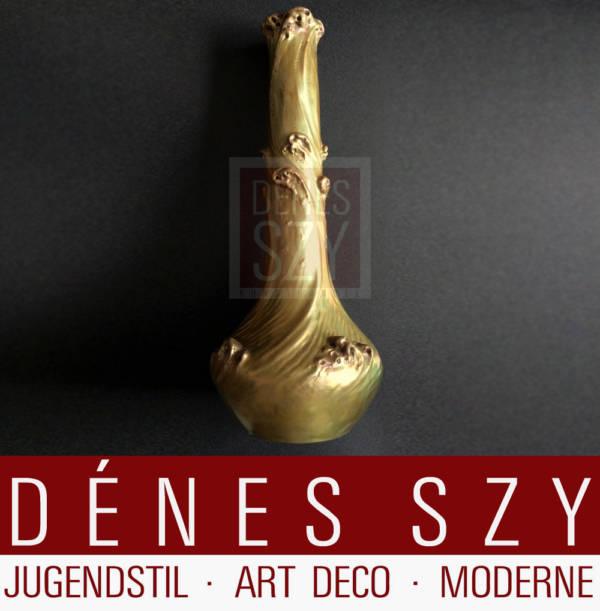Zsolnay Pecs Ungarn Jugendstil Vase Eozin