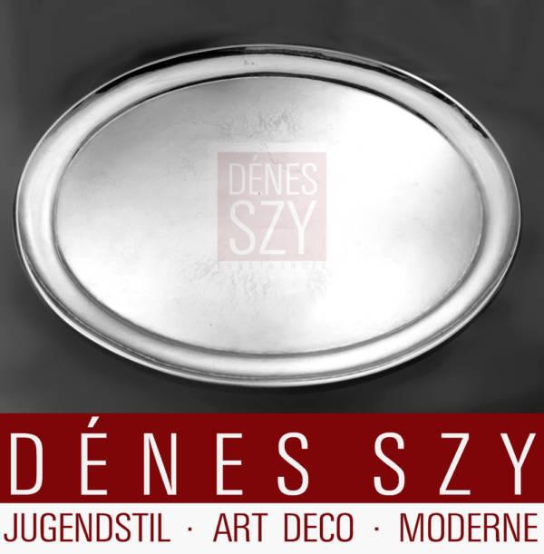Georg Jensen Silber Art Deco Tablett 223 H Johan Rohde