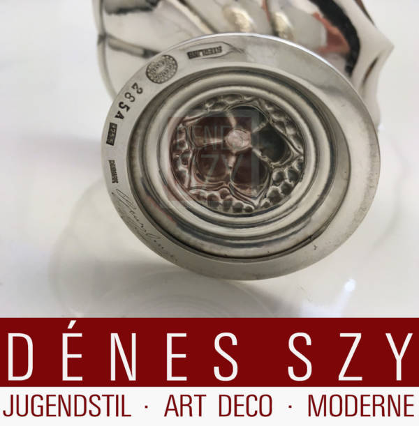 Georg Jensen Silber Tazza 285 A gefertigt 1928