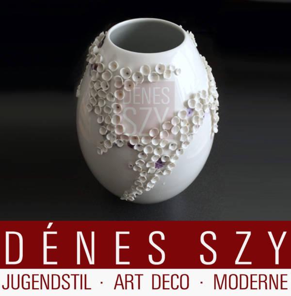 Meissen Porzellan Vase Andreas Herten 2000