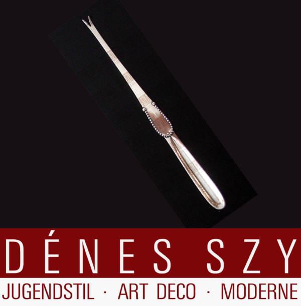 Georg Jensen Silber Kugel 7 Hummerstift