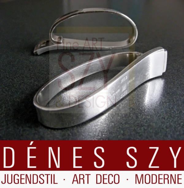 Portatovagliolo, Modello: PYRAMID No. 15, Design: Harald Nielsen, 1927 ca., Esecuzione: argentiere Georg Jensen, Copenaghen 1933-44, Danimarca, Argento 925