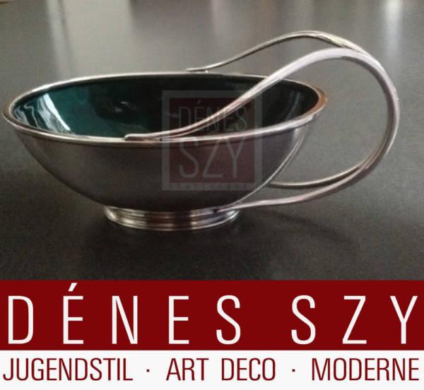 Hingelberg Weihrauch Sterling Silber Sauciere Mid Century Modern