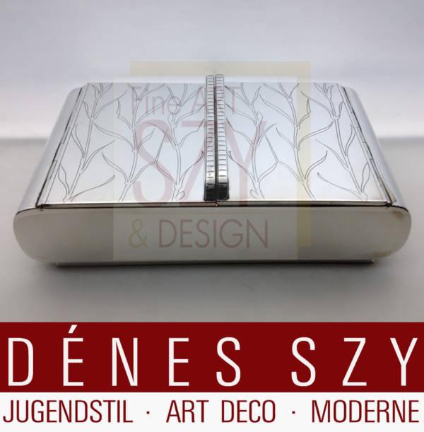 Art Deco, modernist Georg Jensen Sterlingsilber Dose 867
