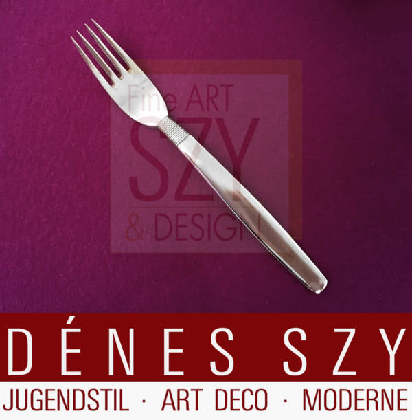 Silver Thread Hingelberg 18 Danish Sterling Silver cutlery luncheon fork