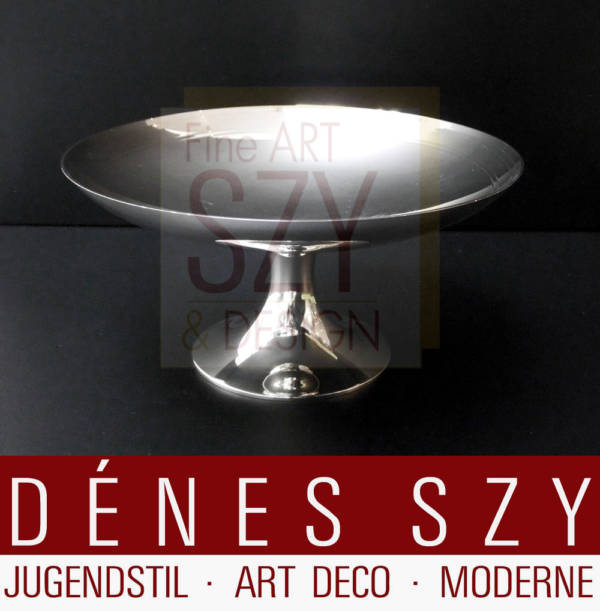 Tazza, ciotola da portata, Argento Art Déco, Esecuzione: Tiffany and Co., New York, Argento 925, argento sterling