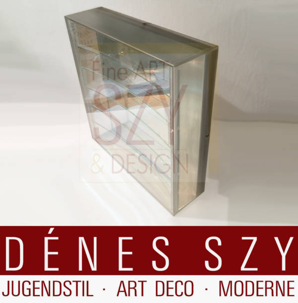 Adolf Luther mirror object, strip object 1973