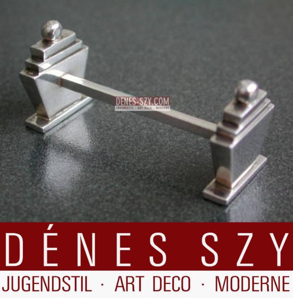 Georg Jensen Sterling Silber Pyramide 15 Messerbänkchen