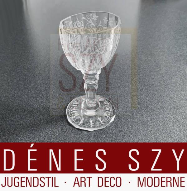 Josef Lobmeyr Vienna Austria Maria Theresia bicchiere da vino in cristallo