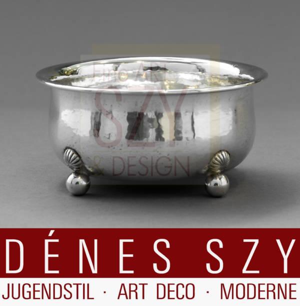 Paula Straus Zuckerdose Silber 1930er Jahre Art Deco
