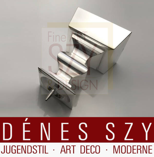 Candeliere moderno in argento, Design ed esecuzione: Franz Rickert, Monaco di Baviera, Germania circa 1972, argento sterling