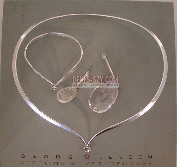 GEORG JENSEN SCHMUCK SILBER Halsring, Armring # 169, 205