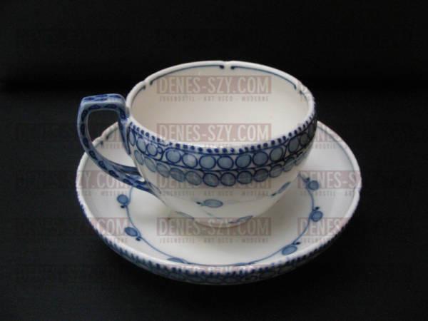 Meissen Jugendstil Kaffee Teetasse Muster Riemerschmid