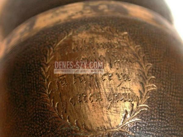 Gobelet braoque, Exécution: Herrengrund environ 1690-1700 (Úrvölgy, Hongrie), Fer, cuivré et partiellement plaqué or