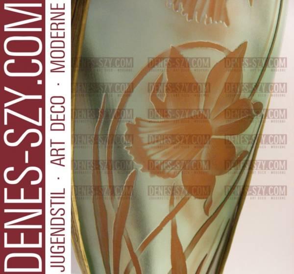 ORIVIT Jugendstil Zinn Vase 2545 A, Köln 1900