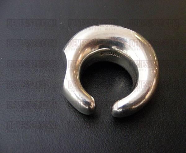Hans Hansen Mid Century Modern jewelry sterling silver ring
