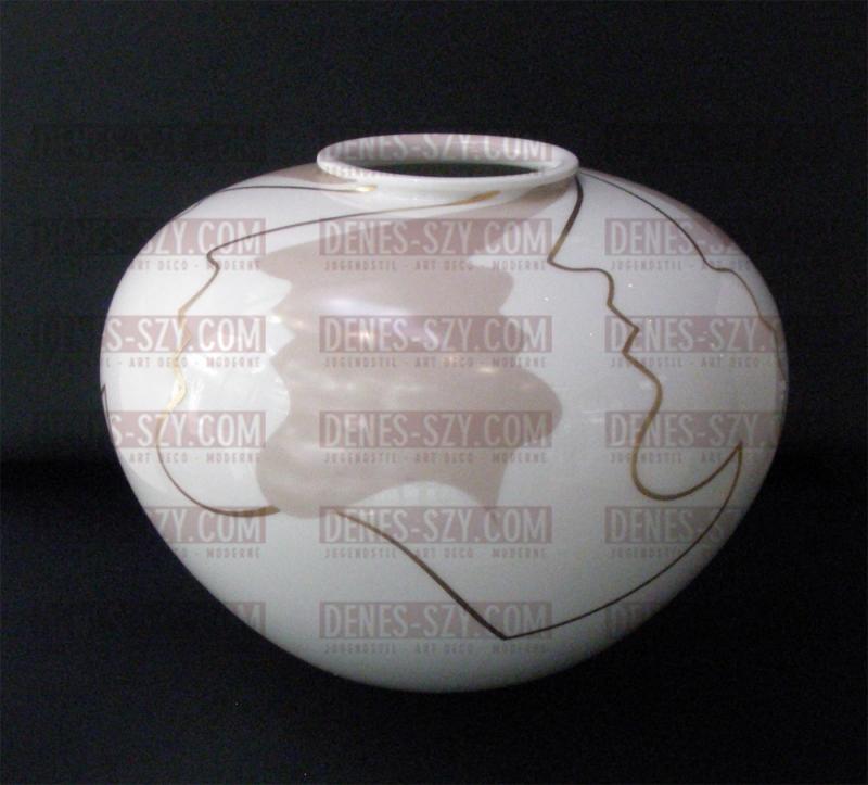 KPM BERLIN PORZELLAN, Zwiebelform Vase, Selbmarke