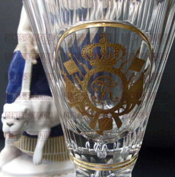 Calice bicchiere da vino Fridericus Rex Preussen 1910 Prussia