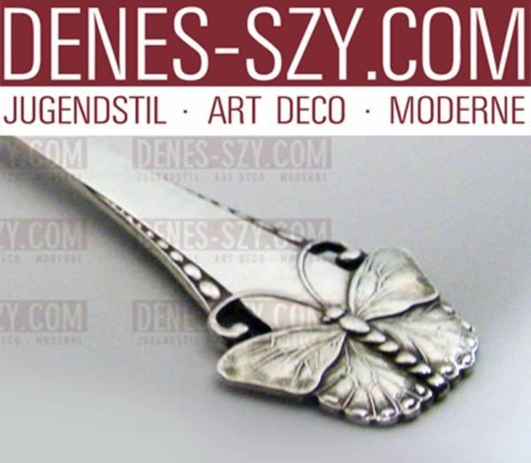Butterfly Danish Sterling by Frigast pickle fork