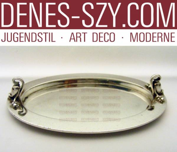 Georg Jensen Sterling claret jug holder tray # 797