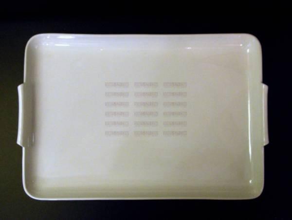 Bauhaus Royal KPM Berlin porcelain crudités plate