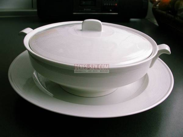 KPM Royal Berlin china Design Friedlaender Halle pattern tureen