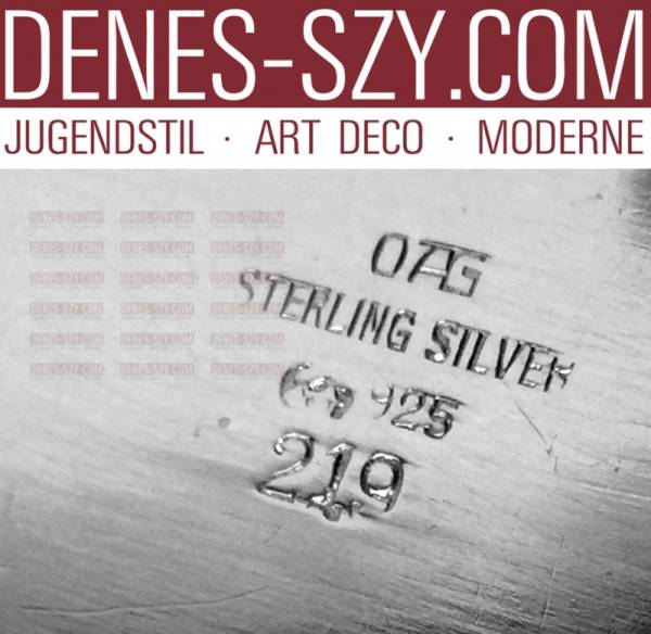 ORIVIT, Köln, OAG Jugendstil Silber, Flaschenhalter # 21