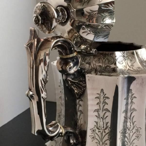 Sterling Silber Victorian Tee Kaffee Set 1846