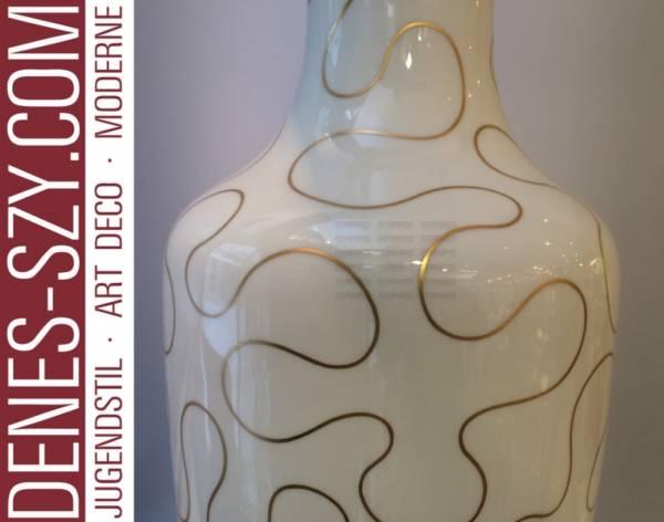KPM Royal Barlin design Hanke large Space Age porcelain vase